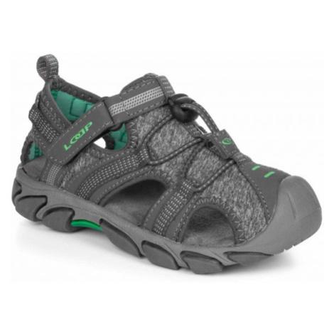 Loap INDER šedá - Dětské sandály