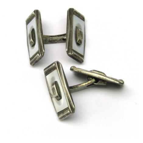 AutorskeSperky.com - Stříbrné manžetové knoflíky - S2086