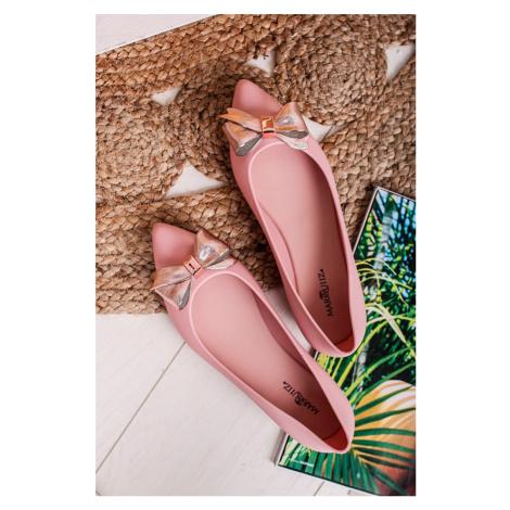 Světle růžové balerínky Alexia Ideal