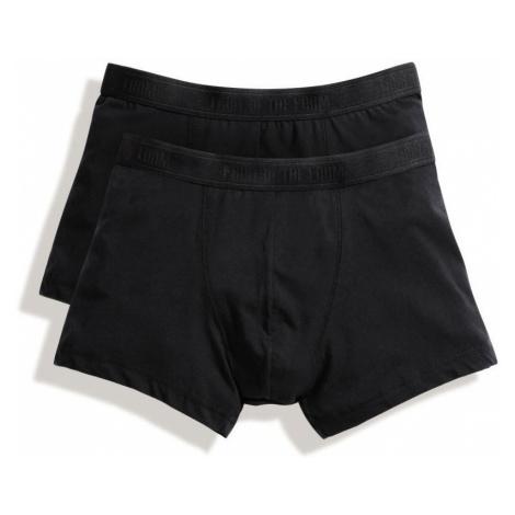 2x pánské boxerky Classic Shorty - černá