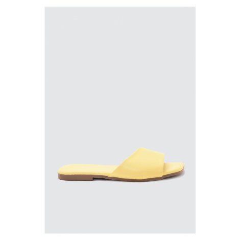 Trendyol Yellow Women's Slippers