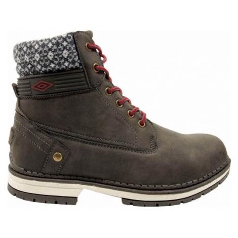 Umbro LOTTA tmavě šedá - Dámská podzimní obuv