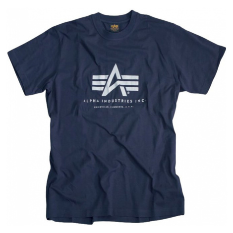 Alpha Industries Tričko Basic T-Shirt navy