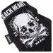Moto Rukavice W-Tec Black Heart Web Skull Černá
