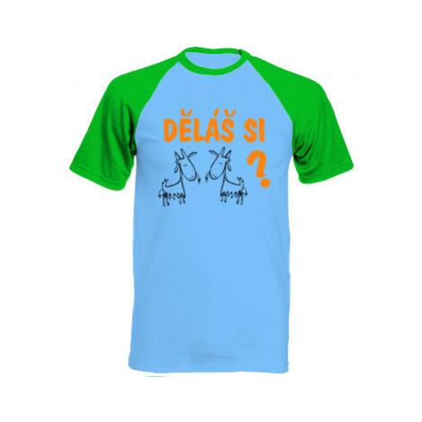 Pánské tričko Baseball Děláš si kozy