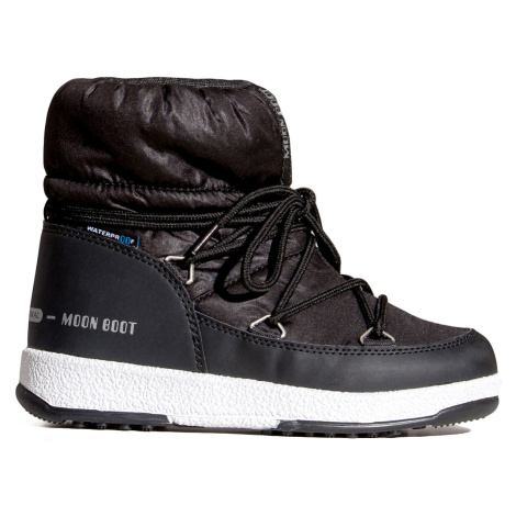 Sněhule Moon Boot JR GIRL LOW NYLON černá