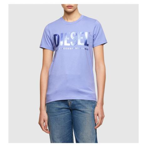Tričko Diesel T-Sily-Wx T-Shirt - Modrá