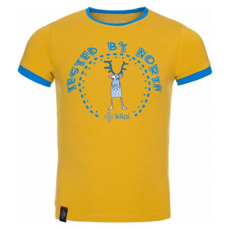 KILPI Chlapecké triko MERCY-JB KJ0085KIYEL Žlutá