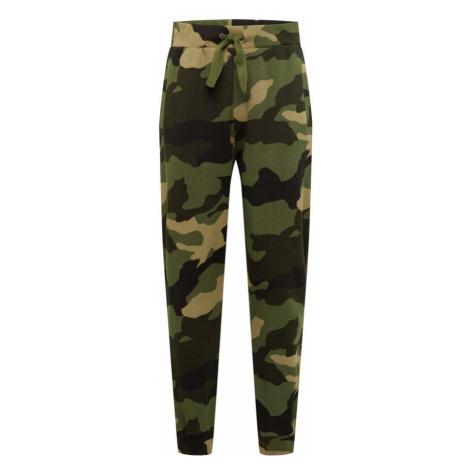 Pepe Jeans Kalhoty 'WOODY' khaki / olivová / rákos / jedle