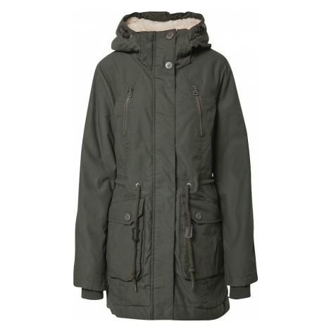 Ragwear Zimní bunda 'ELSA' tmavě zelená