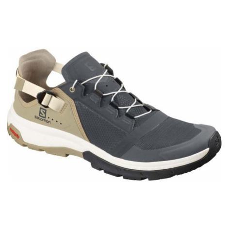 Salomon TECHAMPHIBIAN 4 šedá - Pánská hikingová obuv