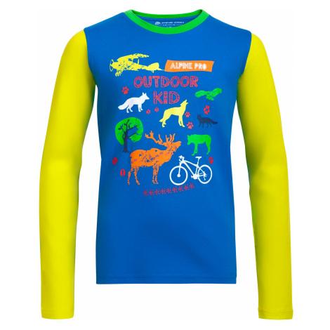 Dětské triko Alpine Pro TOWERO - tmavě modrá