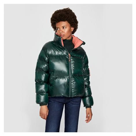 Pepe Jeans dámská zelená bunda Claire