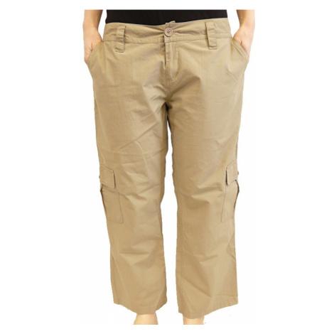 Kalhoty Diverse Kona beige