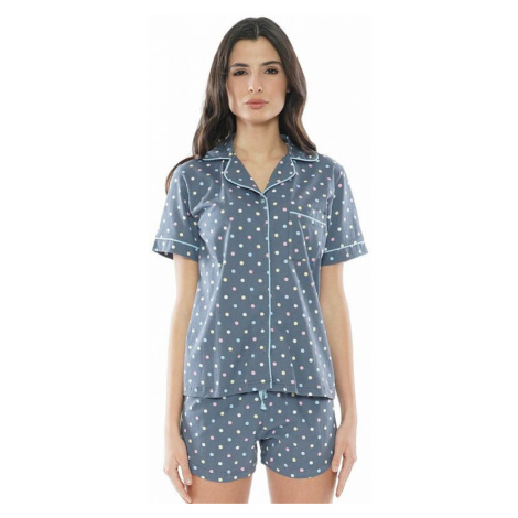 Dámské pyžamo Karla puntíky