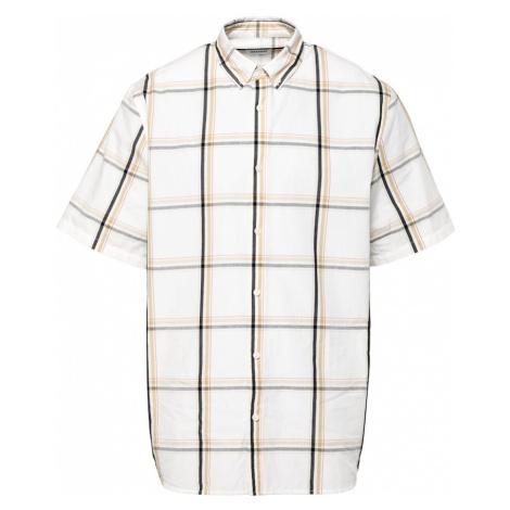 WEEKDAY Košile 'Dameer' béžová / černá / hnědá