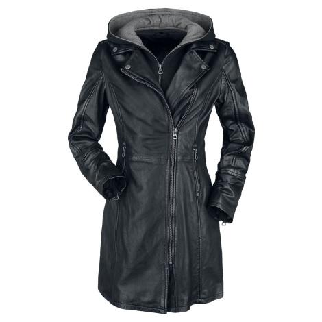 Gipsy Seneka LEGV Dámský kožený kabát černá