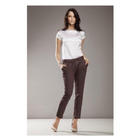 NIFE kalhoty dámské SD01 mocca