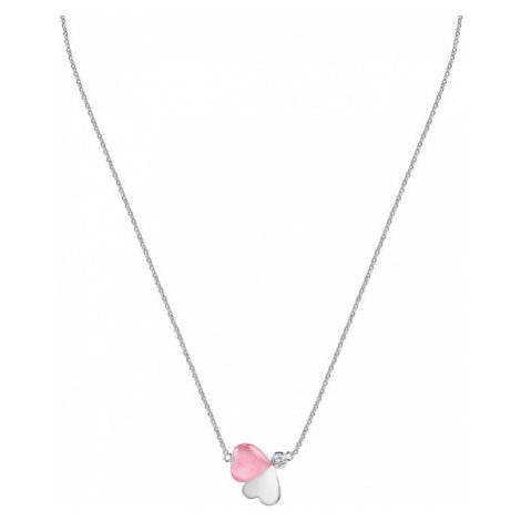 Morellato Romantický stříbrný náhrdelník s kočičím okem Cuore SASM09