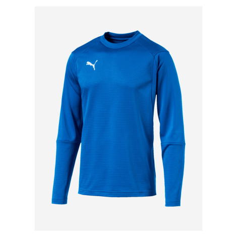 Mikina Puma Liga Training Sweat Modrá