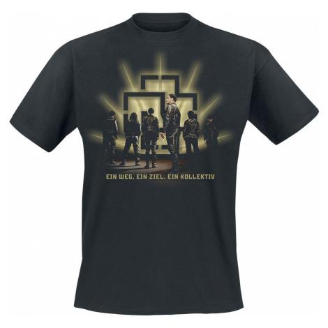 Rammstein Kollektiv Tričko černá