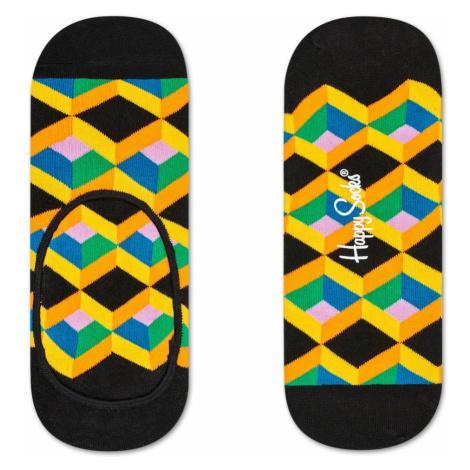 Optic Square Liner Sock Happy Socks