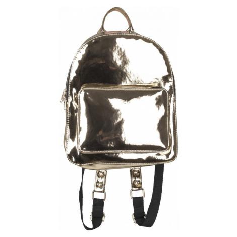 Midi Metallic Backpack - gold Urban Classics