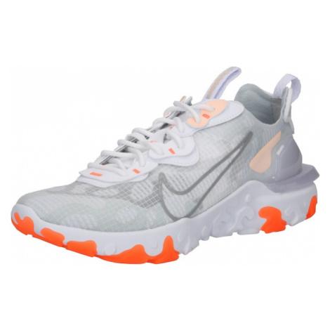 NIKE Sportovní boty 'React Vision' šedá / oranžová