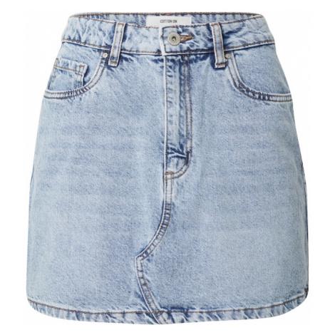Cotton On Sukně modrá džínovina