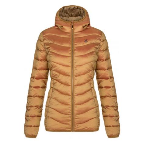 Loap IDROSA žlutá - Dámská zimní bunda