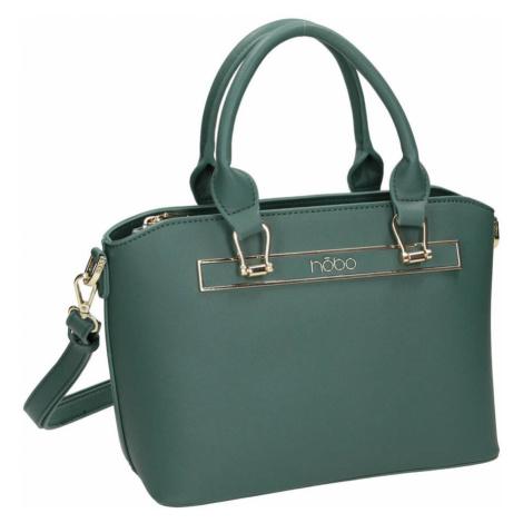 Vkusná dámská kabelka z eko kůže s odnímatelným popruhem NOBO