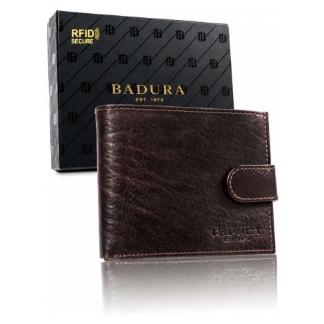 BADURA Brown men´s leather wallet Fashionhunters