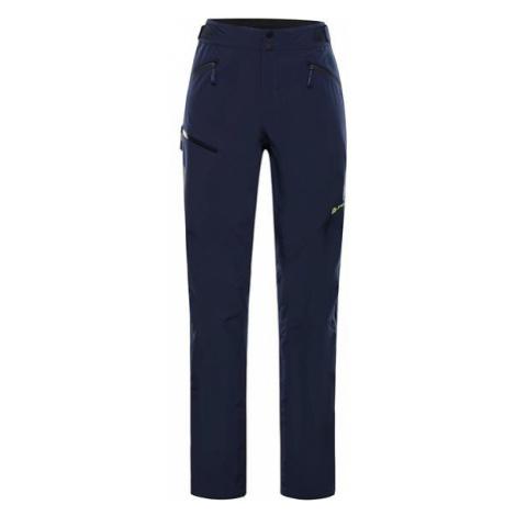 ALPINE PRO Olwen 4 Modrá / Tyrkysově Modrá Pánské Outdoorové Kalhoty S Membránou Ptx MPAS460602