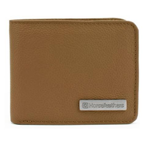 Horsefeathers BRAD WALLET hnědá - Pánská peněženka