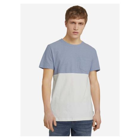 Triko Tom Tailor Denim Modrá