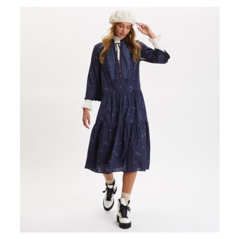 Šaty Odd Molly Dance More Dances Dress - Modrá