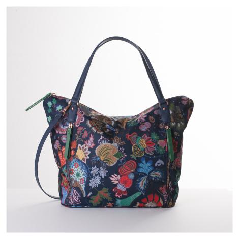 Shopper OILILY Black Iris modrá OIL0606-575