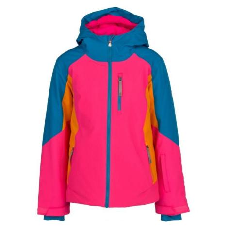 Spyder GIRLS PIONEER růžová - Dívčí bunda