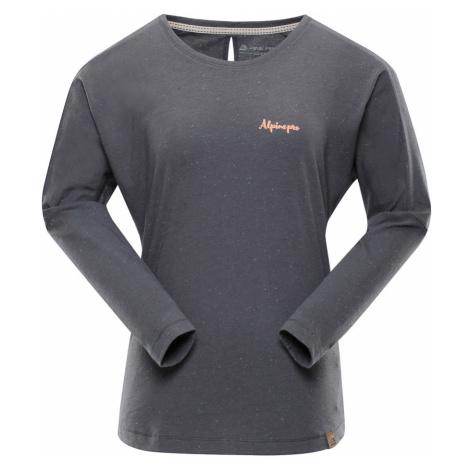 ALPINE PRO MALA 3 Dámské triko s dlouhým rukávem LTSN423770 šedá