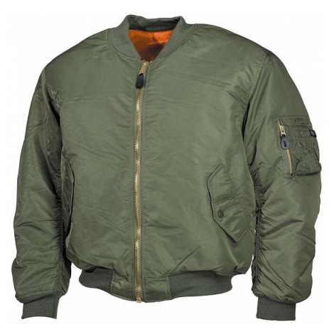 "Bunda MFH® Flight Jacket MA1 ""Bomber""- oliv Max Fuchs"