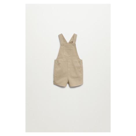 Mango Kids - Dětské kalhoty na šle GRANA8