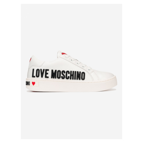 Tenisky Love Moschino Bílá
