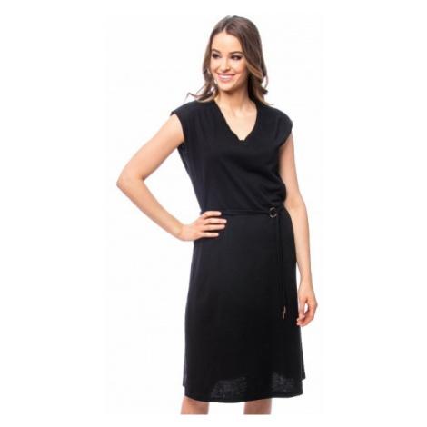 Heavy Tools Dámské šaty Viene black E9S20290BL
