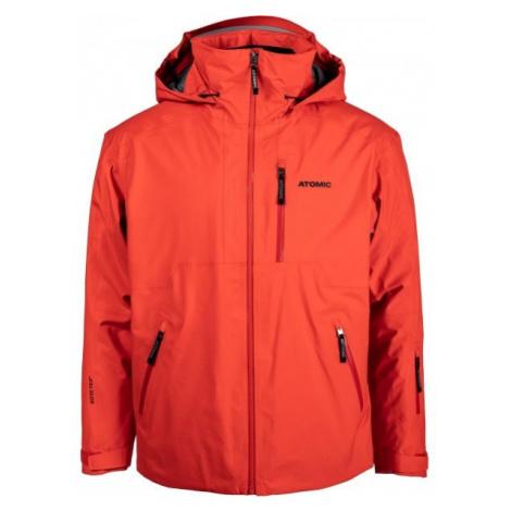 Atomic REDSTER GTX JACKET červená - Pánská lyžařská bunda