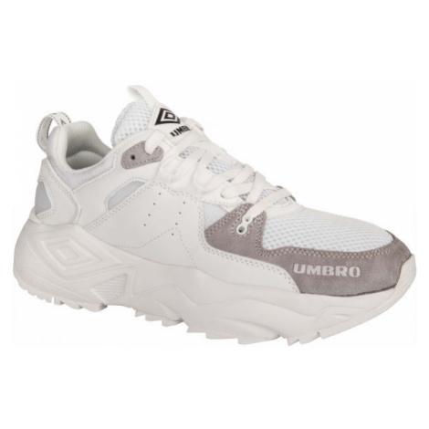 Umbro RUN M LE bílá - Pánská volnočasová obuv