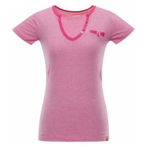 ALPINE PRO ROPERA 3 Dámské triko LTSN426415 Fuchsiová růžová