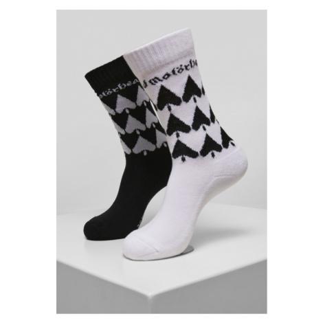 Mr. Tee Motörhead Socks 2-Pack black/white