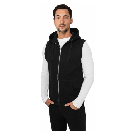 Light Fleece Sleeveless Zip Hoody Urban Classics