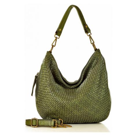 Přírodní kožená taška model 134227 Mazzini universal