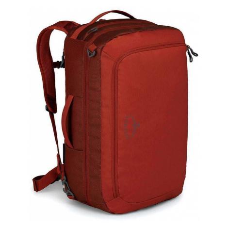 Cestovní taška Osprey Transporter Carry-On 44 Barva: červená